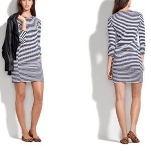 Madewell Stripped Gondola Dress Size Small
